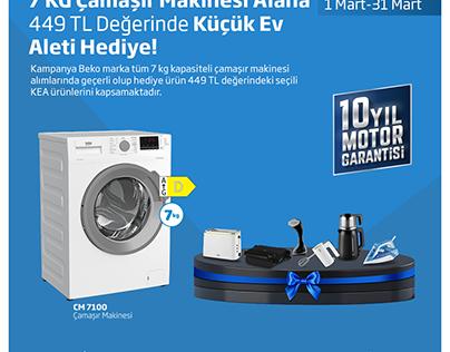 ALİ İŞ BEKO SOCIAL MEDIA POST DESIGN