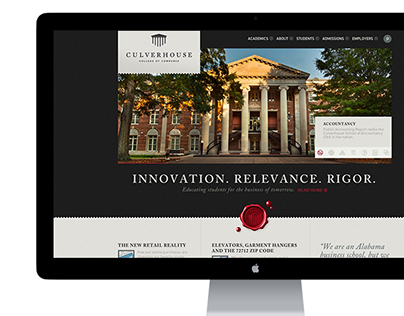 Culverhouse College of Commerce Rebrand