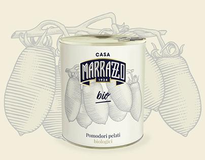 Casa Marrazzo packaging illustrations