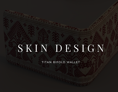 Skin Design for Titan wallet