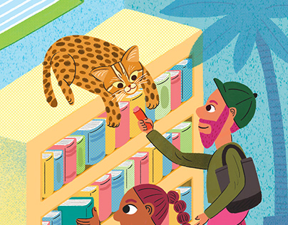 Wild cat library