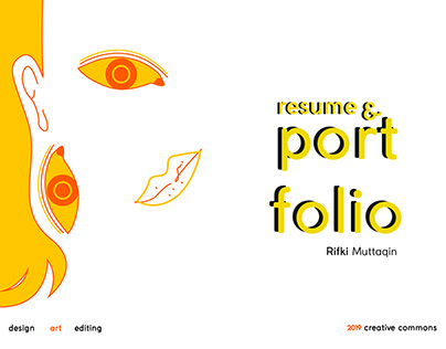 Rifki Muttaqin - Creative Resume & Portfolio 2019