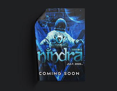 NINDRA EDM FESTIVAL | Poster Design