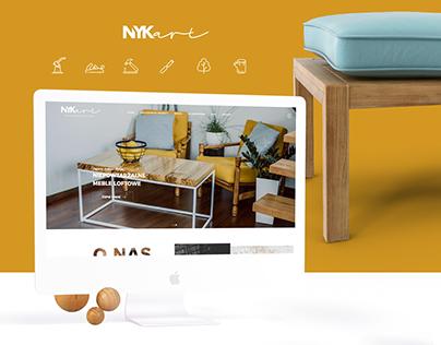 NYKART - rebranding, web design