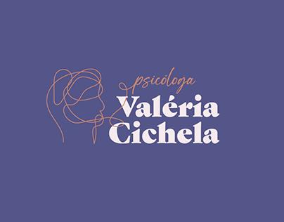 Psicóloga Valéria Cichela - Identidade Visual