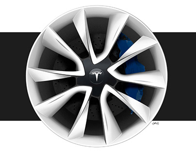 Tesla Model 3 | Signature Wheel Design