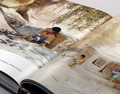 Korean folk tale. 3D Illustrations
