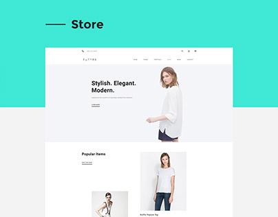 Futura - HTML/Muse Theme