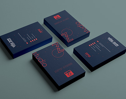 Business Card Design - Zeptic Studios