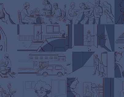 StoryBoard supermercado BIG (Páscoa 2020)