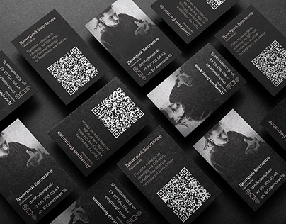 BUSINESS CARD / Визитка для парикмахера