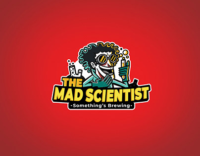 The Mad Scientist Bar - Branding & Identity.