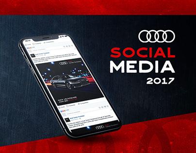 Audi Center | Social Media 2017