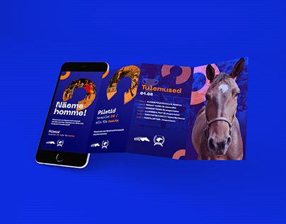Tallinn Hippodrome social media rebranding