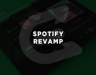 Spotify Revamp by Edvardas Cerneckis
