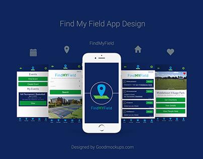 Find My Field App Design