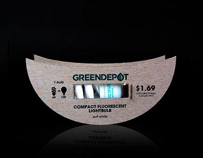 Green Depot: Eco-Friendly Lightbulb Design