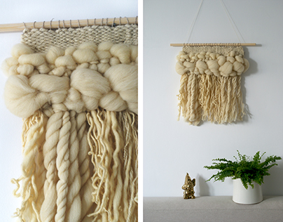 nature - handwoven wall hangings