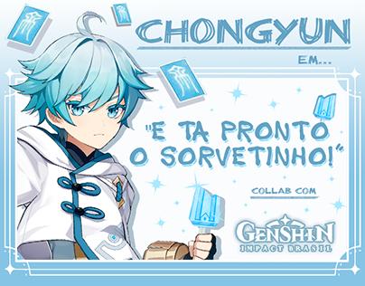 "Genshin Impact Brasil - Post ""E Ta Pronto o Sorvetinho"""