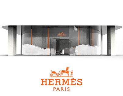 HHH - Pop up store Hermes