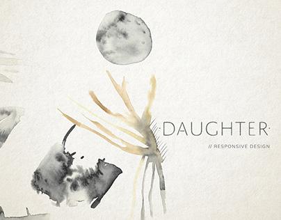 Daughter | Responsive Web Design