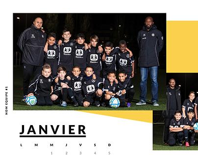 FC Black Star - calendars
