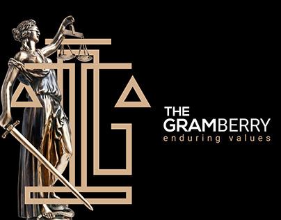 GramBerry Law Branding Identity