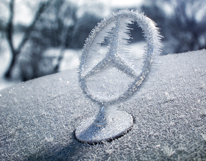 frozen mercedes star (full cgi)