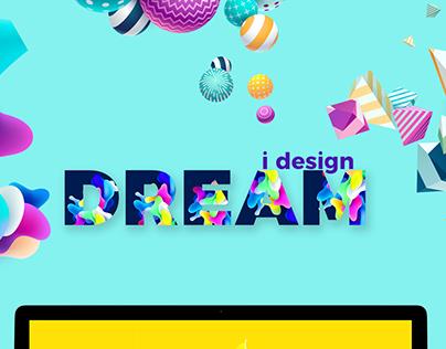 I Design Dream - a Portfolio Design