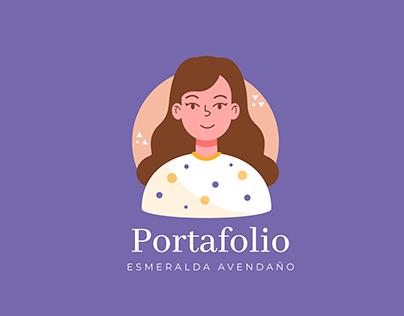 Portafolio Diseño Gráfico Esmeralda Avendaño