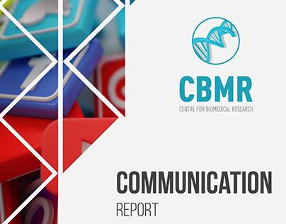 Design Gráfico e Copyright do Communication Report