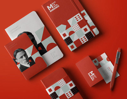 МУЗЕЙ МИХАИЛА БУЛГАКОВА логотип и фирменный стиль