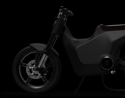 FAMEL ZX 01 | Electric motorcycle design