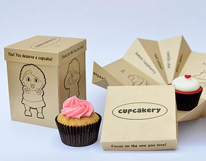 Cupcake Gift Packaging