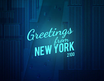 Greetings from NYC 2100