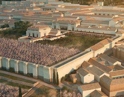 Alcázar of Madînat al-Zahrâ, ca 970
