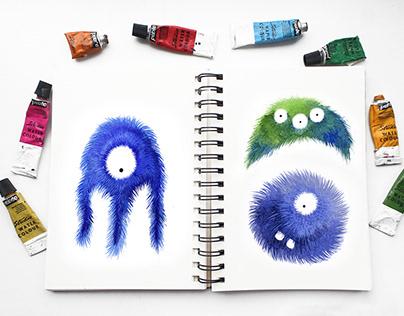 Fluffy monsters