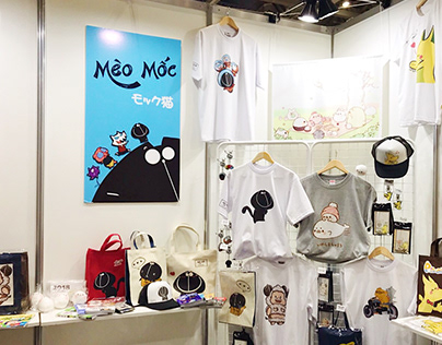 Meo Moc's exhibition in Japan 2017 - 2018