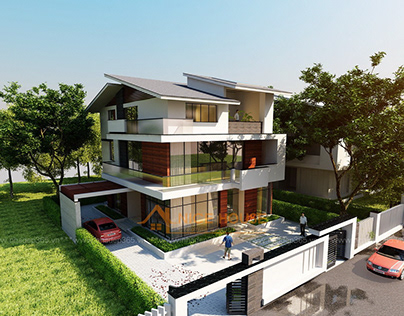 Thiết kế biệt thự 3 tầng Anh Sơn - Đông Anh
