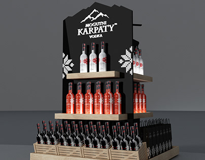 alcohol stand