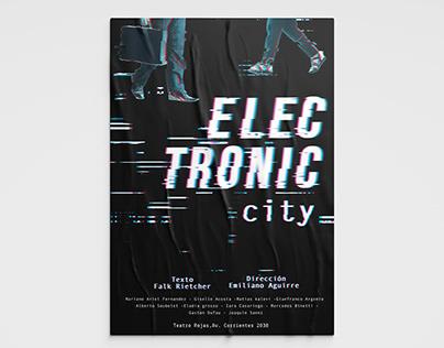 Afiche Electronic City