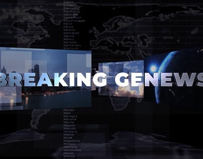 Générique YouTue - Breaking Genews