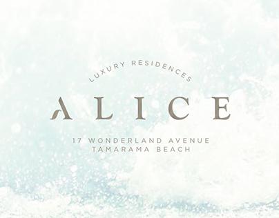 Property Branding - Alice, Tamarama, Sydney