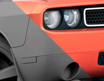 Dodge Challenger CGI