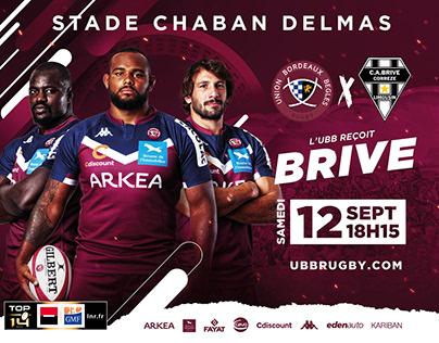 Affiche UBB 2020/2021