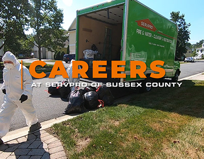 Careers At SERVPRO of Sussex County
