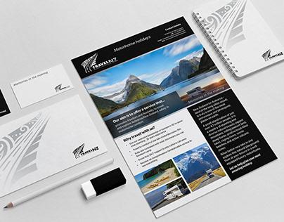 Logo Design - Travel NZ Motorhomes