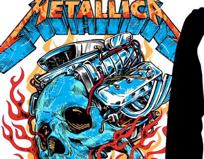 Tshirt Design: Metallica