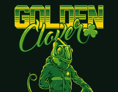 Golden Clover - T-Shirt art