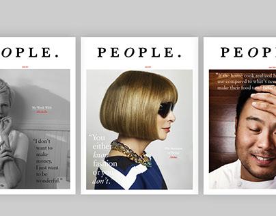 People Magazine Redesign